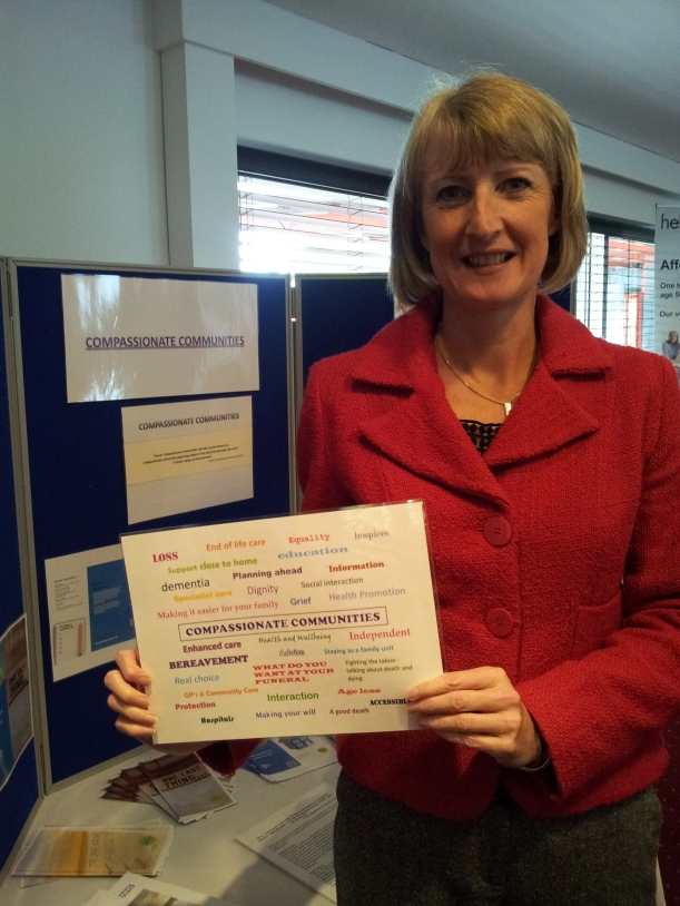 Carole Hewitt, project lead for Dorset Compassionate Communities