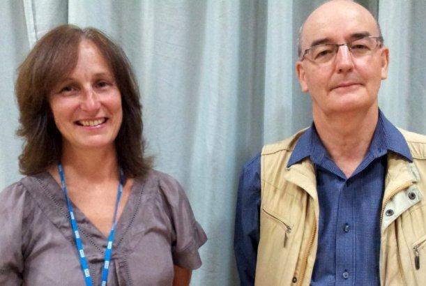 Sarah Turner and Graham Willetts at CCG Stakeholder event 3  September