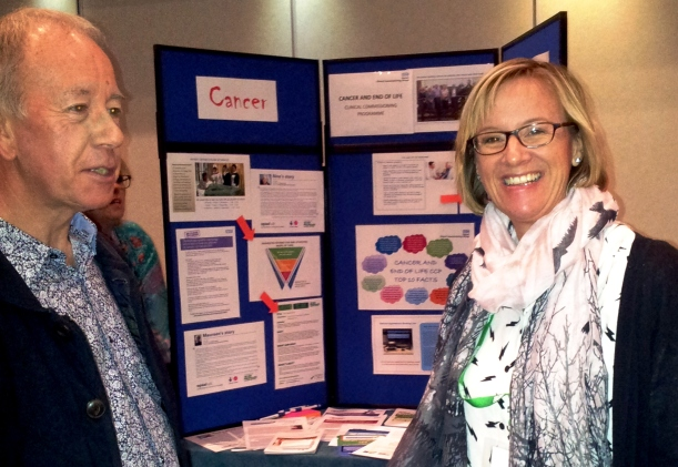 Volunteer Advocate Bob Smith and Jenny Rimmer, Macmillan Senior Advocate