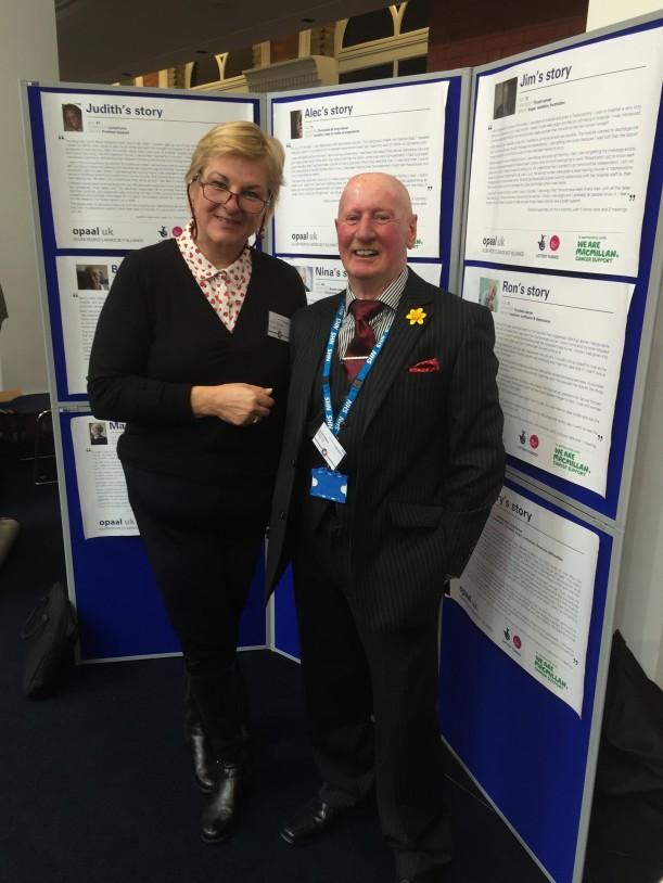 Stuart Gibson with Kath Parson