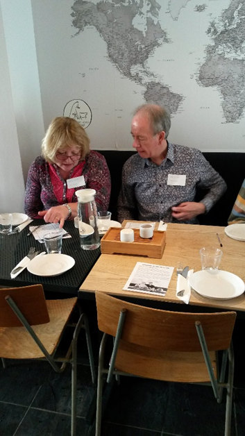 Advocate Peer Volunteers Bob and Maddy Smith share their tasting notes