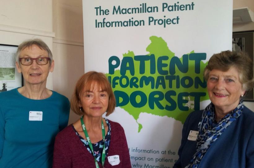 L-R Volunteer advocates Isabel Molland, Jenny Wells, Marion Summers