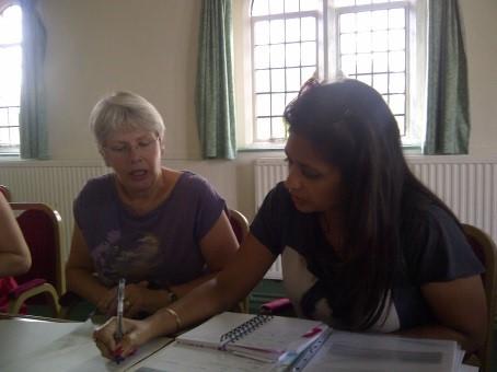 Janet Maddison and Jacqueline Wijewickreme