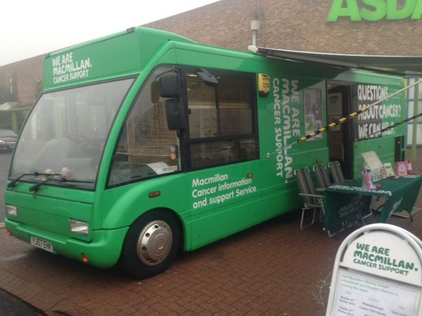 Beryl, the Macmillan Bus