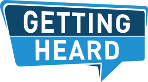 Getting Heard logo